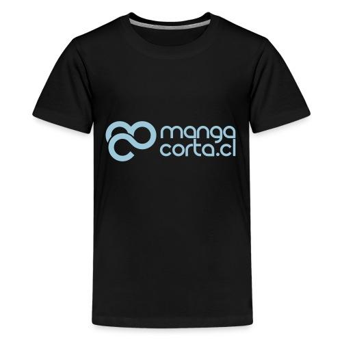 logo mangacorta cl - Kids' Premium T-Shirt