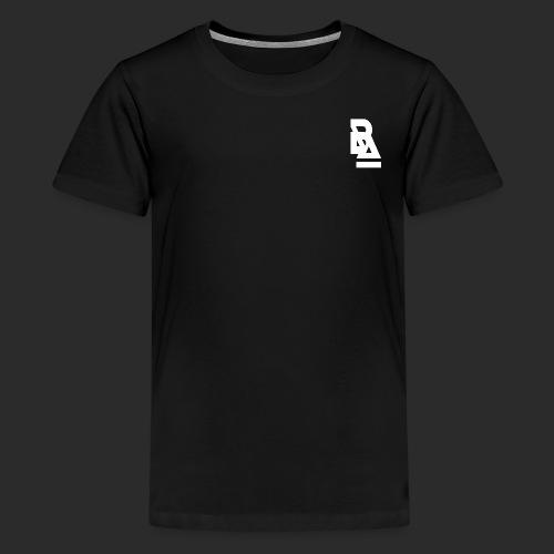 White Official BlizzardArtz Logo - Kids' Premium T-Shirt