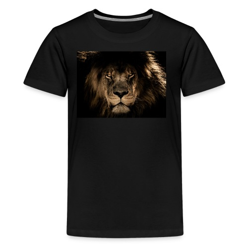 African lion face - Kids' Premium T-Shirt