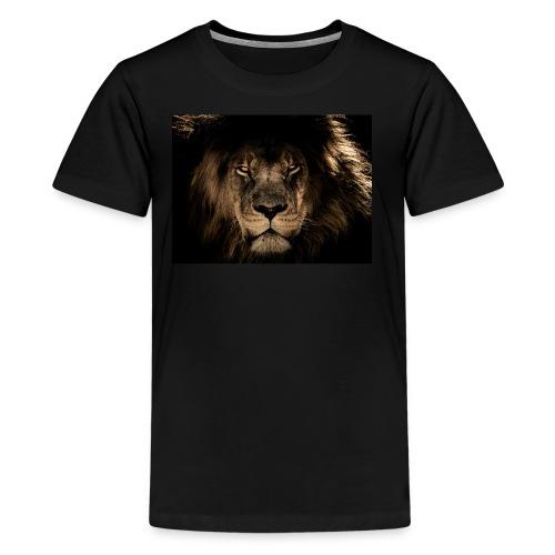 African lion face - Kids' Premium T-Shirt