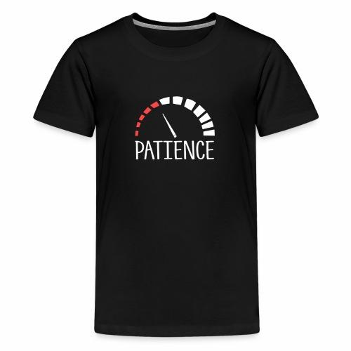 Patience level - Kids' Premium T-Shirt