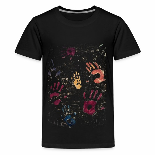 Hands paint - Kids' Premium T-Shirt
