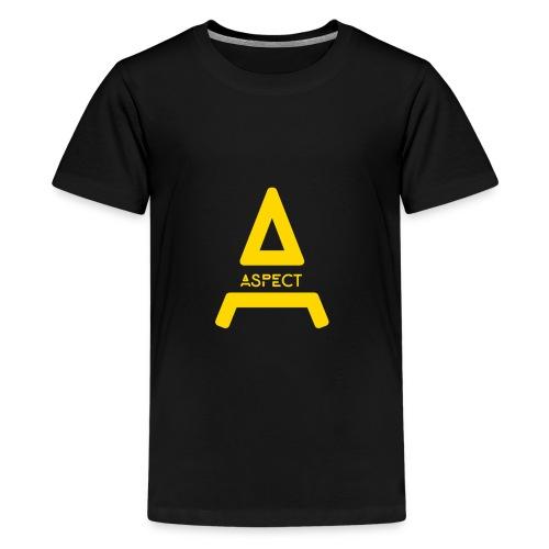 Limited Edition Gold Aspect Logo Sweatshirt - Kids' Premium T-Shirt