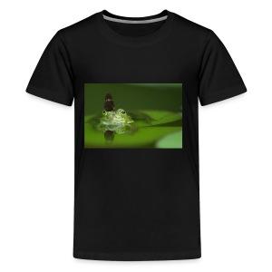frog butterfly - Kids' Premium T-Shirt