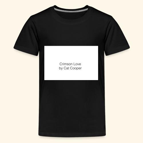 Crimson Love by Cat Cooper - Kids' Premium T-Shirt