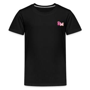 DM doughnut design - Kids' Premium T-Shirt