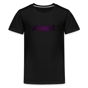Alright ANG Merch - Kids' Premium T-Shirt