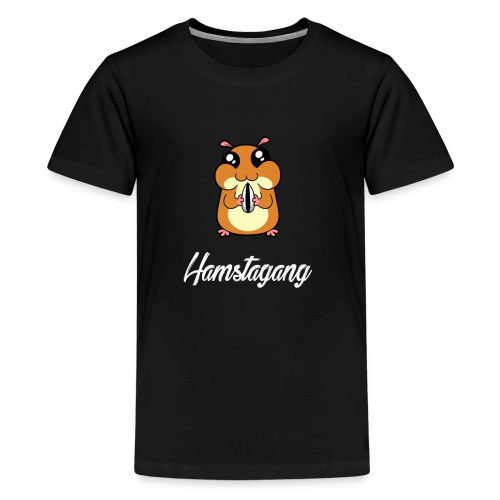 Hamstagang White - Kids' Premium T-Shirt