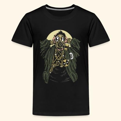 Gas mask Gangsta - Kids' Premium T-Shirt