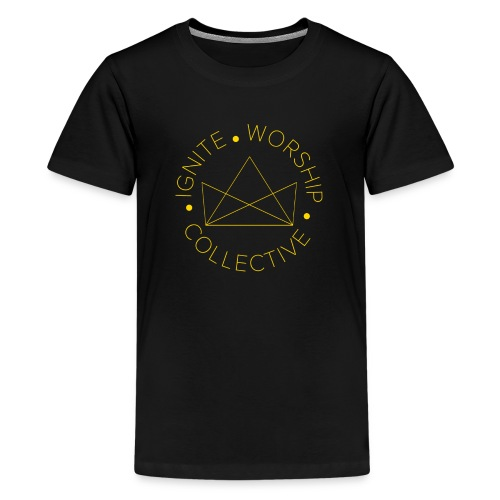Monogram w/ Crown - Kids' Premium T-Shirt