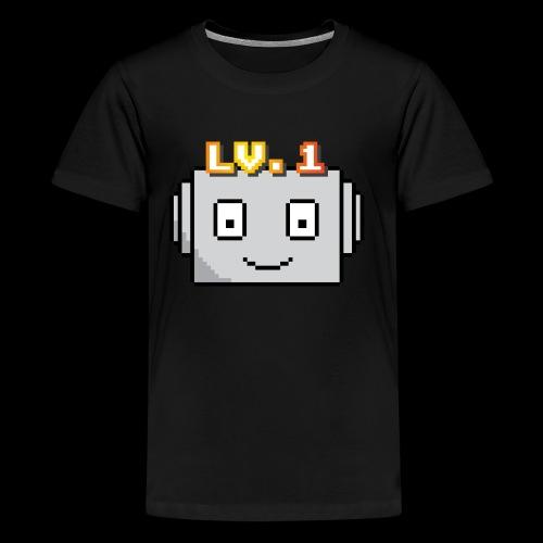 Beginner Bots Mascot - Kids' Premium T-Shirt