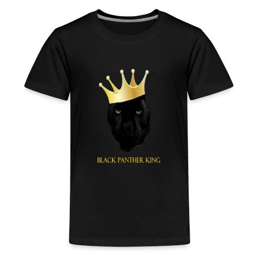 Panther King - Kids' Premium T-Shirt