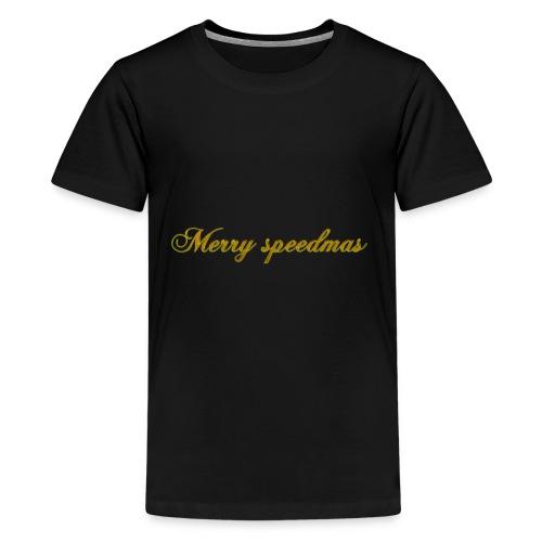Merry speedmass christmas - Kids' Premium T-Shirt