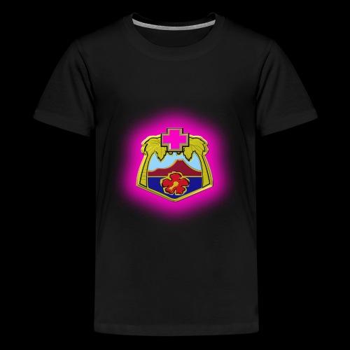 TRIPLER LOGO IN PINK - Kids' Premium T-Shirt
