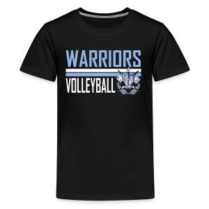 St Paul Warrior Volleyball Design 4 - Kids' Premium T-Shirt