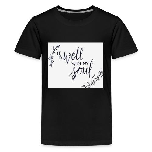 86F9E9D5 D0BA 4815 8EEB 16DA69016E53 - Kids' Premium T-Shirt