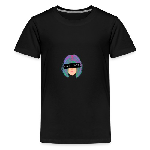 Introvert Graphic Tee - Kids' Premium T-Shirt