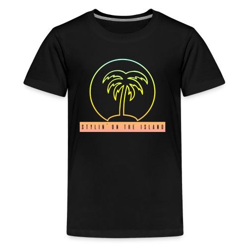 Stylin On The Island PNG - Kids' Premium T-Shirt