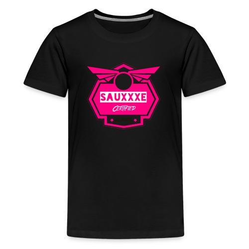 HotPinkSauxe - Kids' Premium T-Shirt