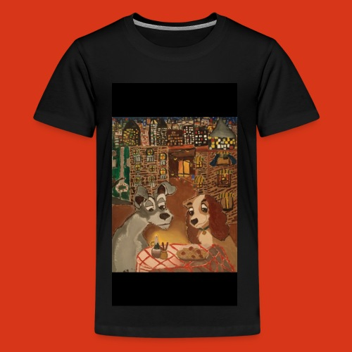 Lady and the tramp - Kids' Premium T-Shirt