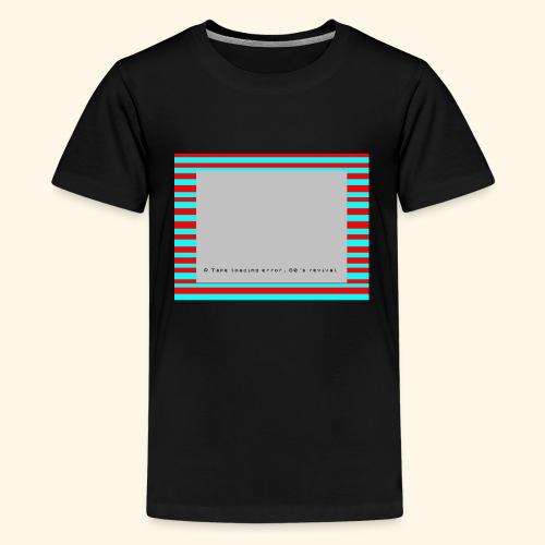 Retro Gaming Tape Loading Error 80s retro revival - Kids' Premium T-Shirt
