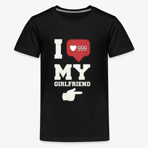 I love my girlfriend - Kids' Premium T-Shirt