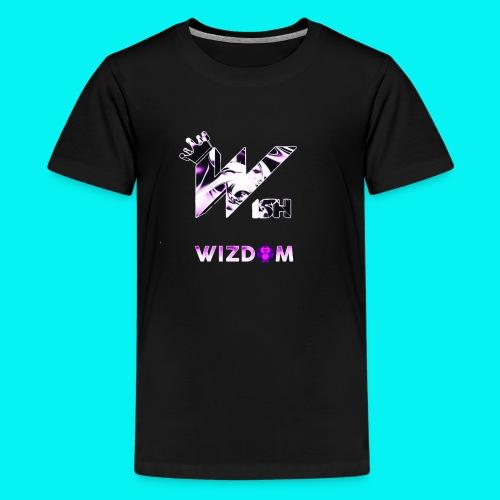 Wizdom 2.0 Logo - Kids' Premium T-Shirt