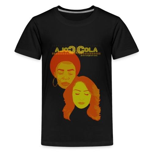 Cola Cola Full Logo - Kids' Premium T-Shirt