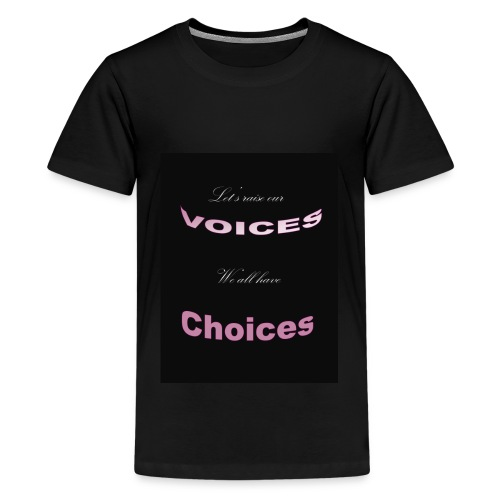 Voices - Kids' Premium T-Shirt