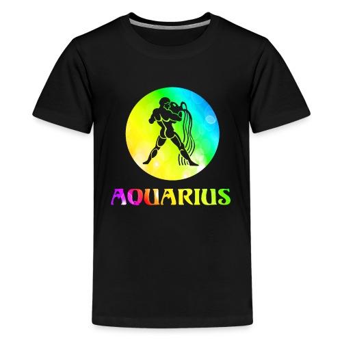 Aquarius Astrological Sign - Kids' Premium T-Shirt