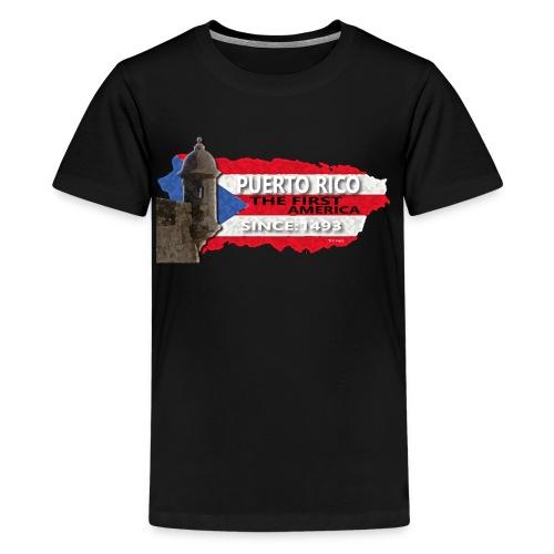 Puerto Rico The First America - Kids' Premium T-Shirt