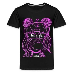 Just A Moon Girl - Kids' Premium T-Shirt