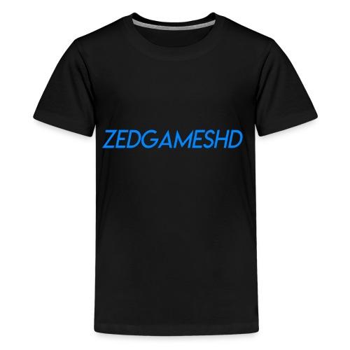 ZedGamesHD Logo - Kids' Premium T-Shirt
