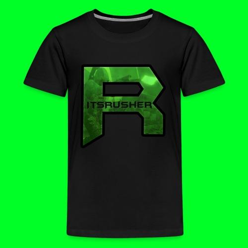 ItsRusher 2018 Logo - Kids' Premium T-Shirt