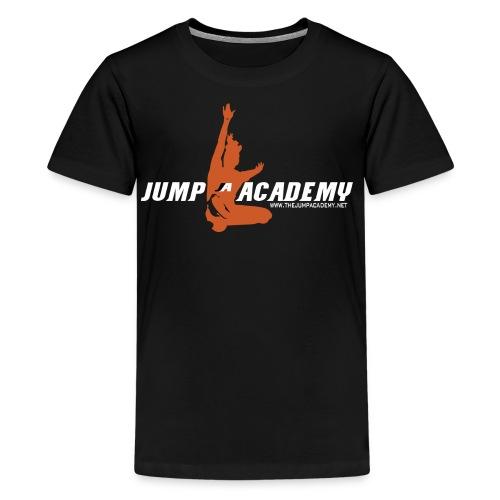 Jump Academy Logo - Kids' Premium T-Shirt