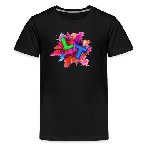 ListenTunes Splat Logo - Kids' Premium T-Shirt