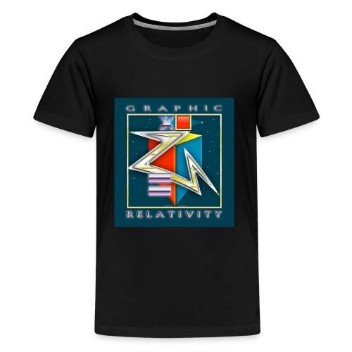 Graphic Relativity - Kids' Premium T-Shirt