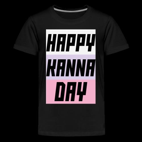 Miss Kobayashi's Dragon Maid Happy Kanna Day - Kids' Premium T-Shirt