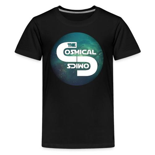TheCosmicalComics logo - Kids' Premium T-Shirt