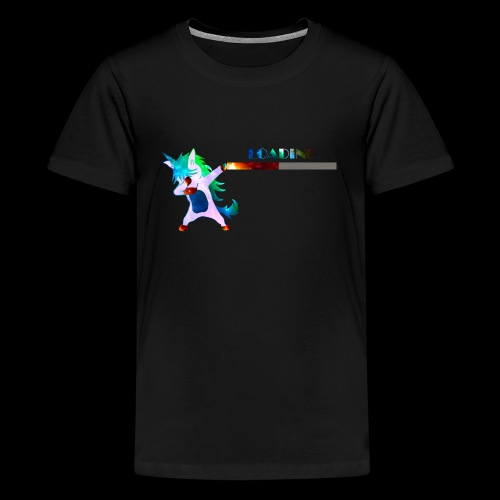 Dabbing unicorn still Loading - Kids' Premium T-Shirt