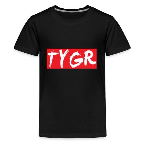 supreme tygr bxlogo - Kids' Premium T-Shirt