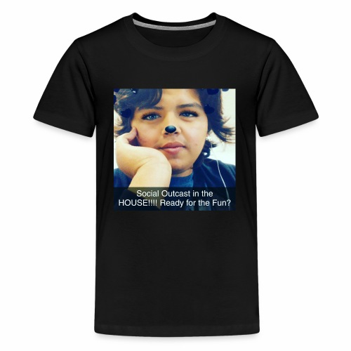 Social Outcast Art! - Kids' Premium T-Shirt