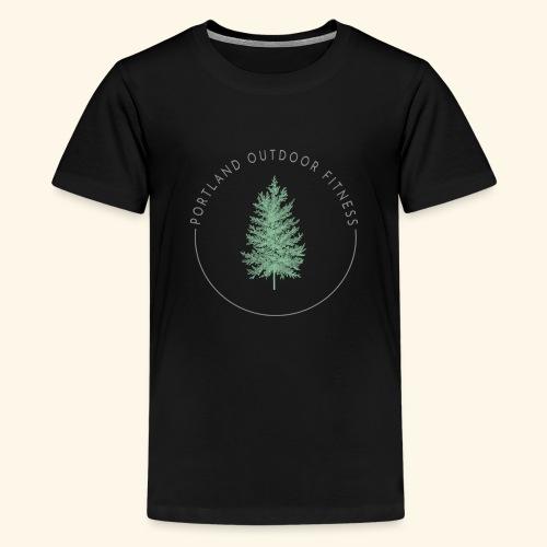 Circle Logo Bolded - Kids' Premium T-Shirt