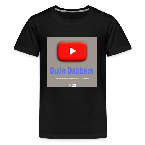 Dude Dabbers special 100 sub accessories - Kids' Premium T-Shirt