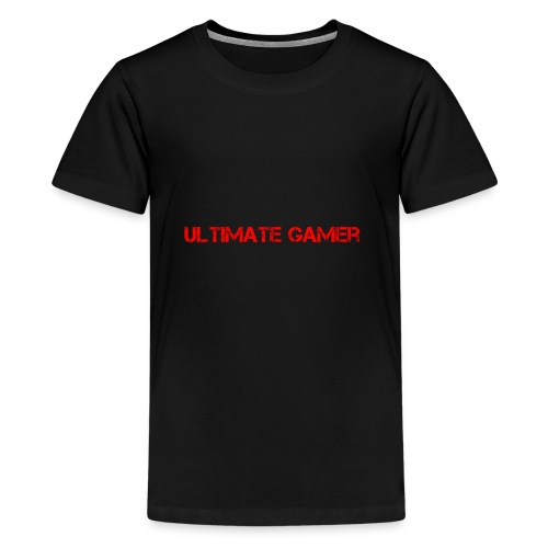 ultimate gamer red logo - Kids' Premium T-Shirt