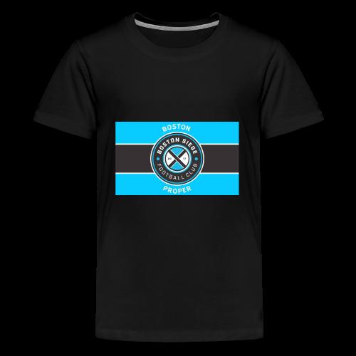 Boston Proper Flag Design - Kids' Premium T-Shirt