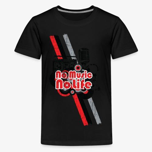 NO MUSIC - Kids' Premium T-Shirt