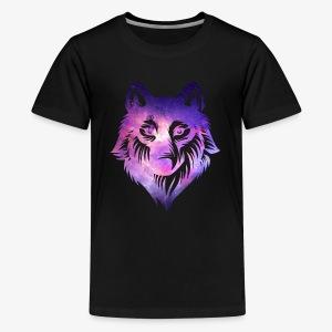 Galaxy Wolf - Kids' Premium T-Shirt