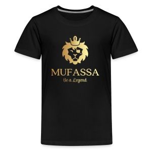 MUFASSA- King your own jungle of life - Kids' Premium T-Shirt