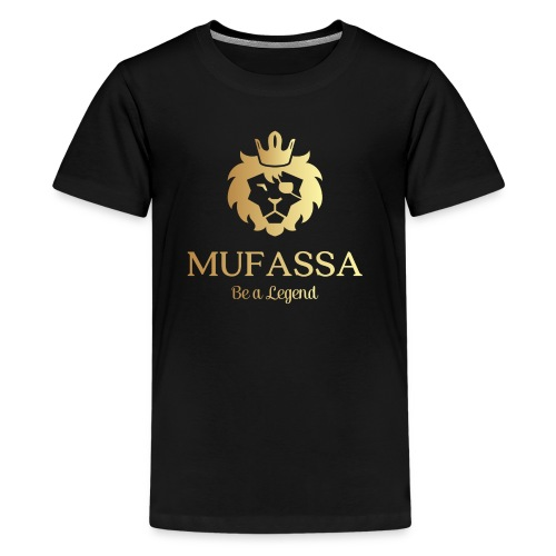 MUFASSA- King your own jungle of life - Kids' Premium T-Shirt